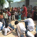 A street play in Najafgarh